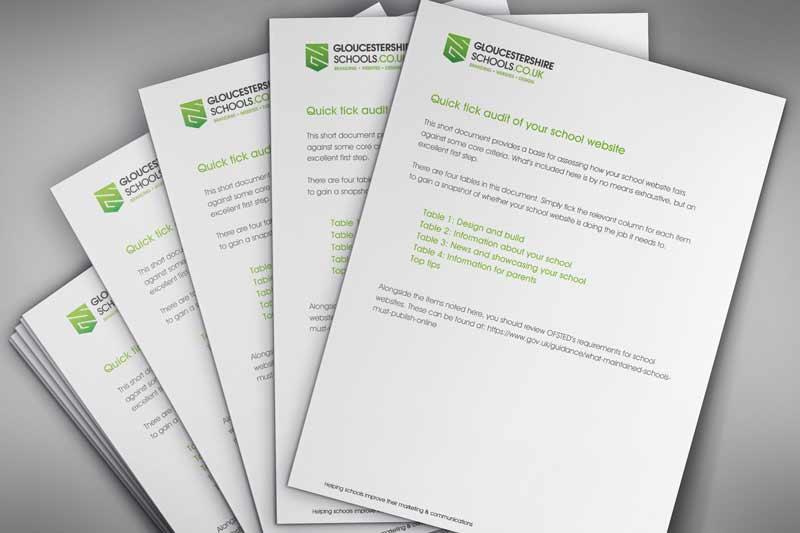 School website audit free