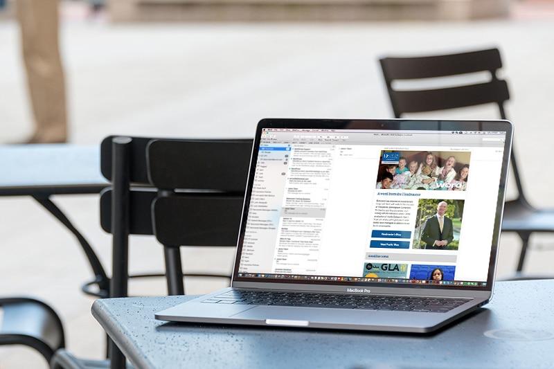 School e-newsletter design for Dean Close School Gloucestershire