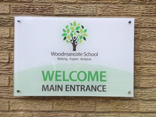 School branding stationery design for Woodmancote School Gloucestershire